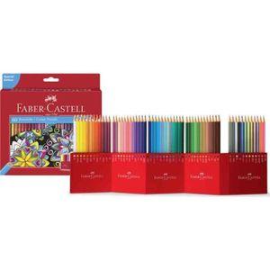 CRAYON DE COULEUR FABER-CASTELL Etui de 60 Crayons de couleur Châtea