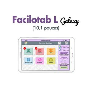 TABLETTE TACTILE Tablette Samsung Facilotab L Galaxy 10,1 pouces Wi