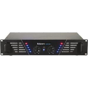 AMPLI PUISSANCE IBIZA AMP600 Amplificateur de sonorisation 2 x 480