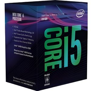 PROCESSEUR INTEL Processeur Core i5 8600 3,10 GHz Socket 1151