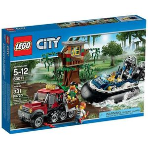 ASSEMBLAGE CONSTRUCTION LEGO® City 60071 L'Arrestation en Hydroglisseur