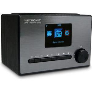 RADIO CD CASSETTE METRONIC 477260 Radio connecté - Noir et gris