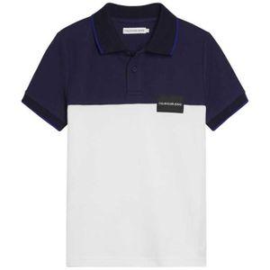 POLO Vêtements garçon Polos Calvin Klein Pique Colorblo