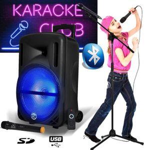 PACK SONO Karaoké Enfants Enceinte Mobile Batterie SONO DJ M
