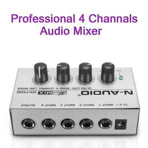 TABLE DE MIXAGE NEUFU MINI MICRO Compact Digital Audio Mixer DJ 4