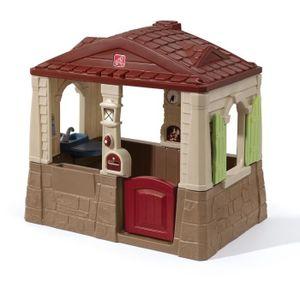 MAISONNETTE EXTÉRIEURE STEP2 Maison Plastique Enfant Teddy Cottage - Marr