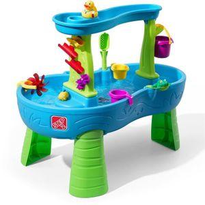 BAC À SABLE STEP2 Table à Eau Rain Showers Splash, 874600, Sel