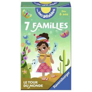 CARTES DE JEU RAVENSBURGER Le jeu des 7 Familles des Incollables