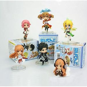 FIGURINE - PERSONNAGE  VOLIBEAR ®  6 Pcs-Lot Sword Art Online Figurine