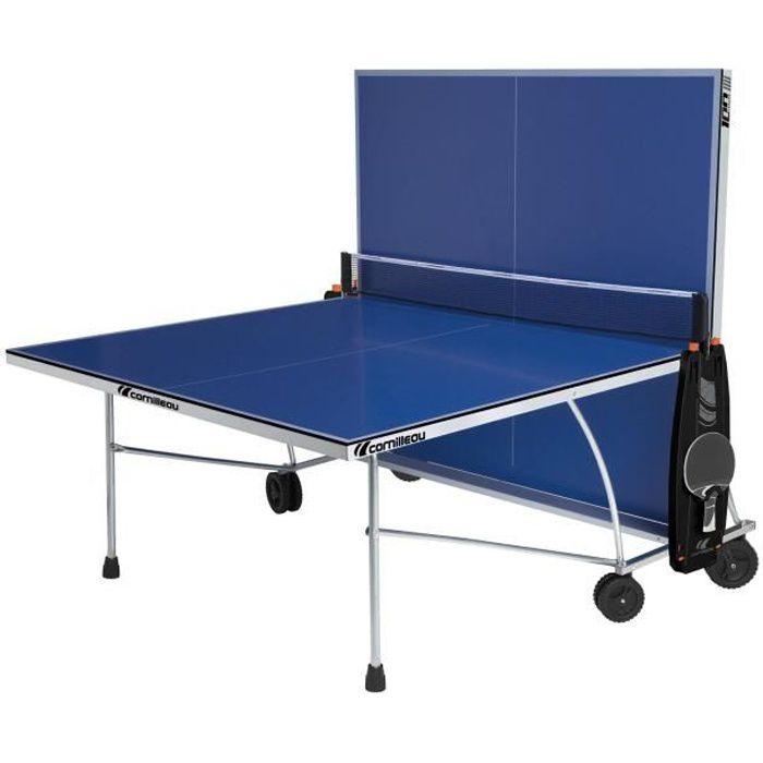 CORNILLEAU Table de tennis de table 100 Indoor - Intérieur - Bleu