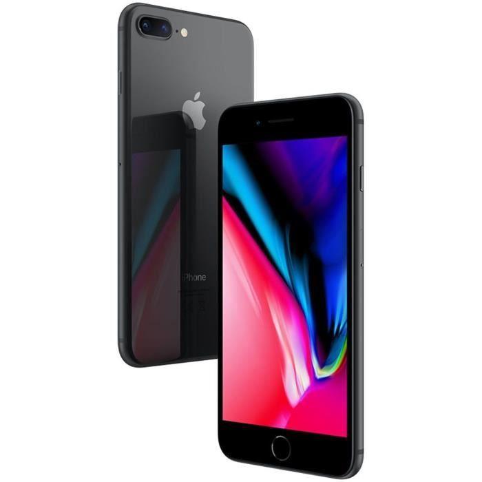 APPLE Iphone 8 Plus 64Go Gris sidéral - Reconditionné - Comme neuf