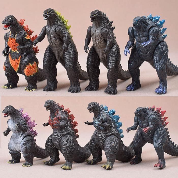 8pcs Jouet Godzilla Personnage de film Modèle Cadeau fille garçon Festival