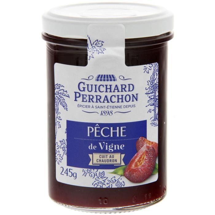 GUICHARD PERRACHON Confiture de Pêches de Vigne - 245 g