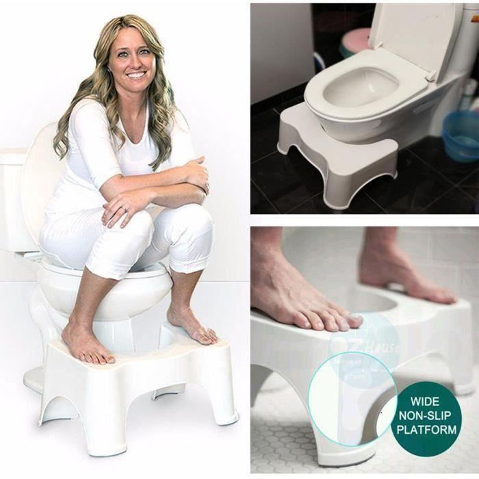 Squatty Potty Salle de bains Tabouret Étape Repose-pieds Constipation Piles Relief Aid@LZJ70719227 ens23341