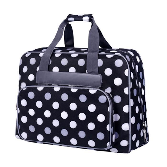 MACHINE A COUDRE,Machine à coudre paquet spécial sac haute capacité Portable fourre tout Oxford tissu sacs de rangement - 04