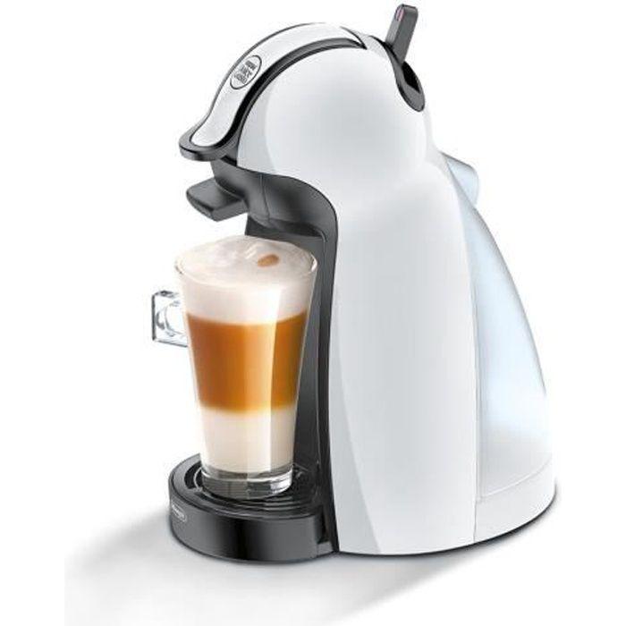 DeLonghi café nescafe dolce gusto piccolo machine blanc brillant