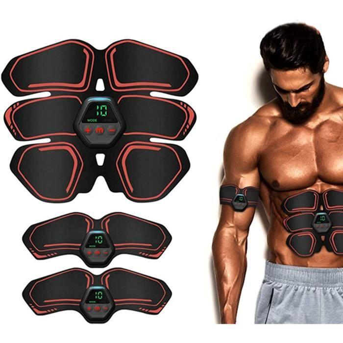 stimulateur Musculaire,Ceinture Abdominale stimulation EMS Ceinture Abdominale stimulation USB Charge,Abdominal pour Abdo[177]