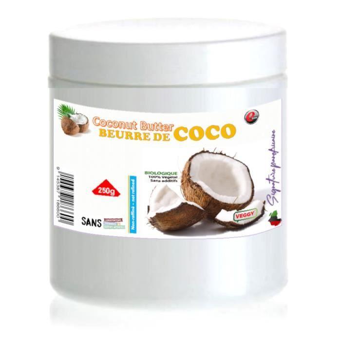 Huile de coco- sélection panafricaine - 250g