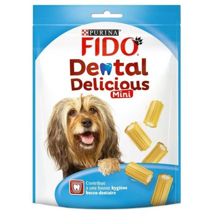 Fido Dental Delicious Mini 130g (lot de 6)