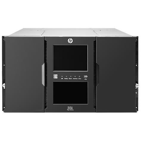 HP StoreEver MSL6480 Scalable Base Module - Bib…