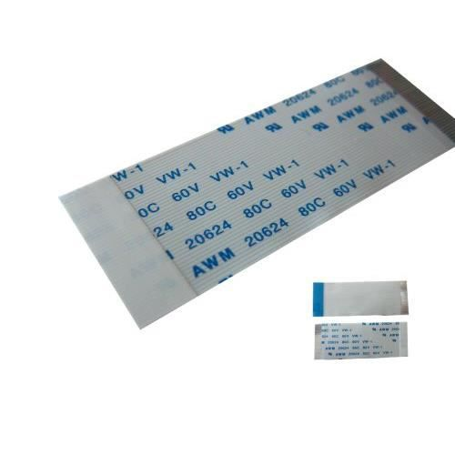 Nappe ZIF TYPE B - Pour disques Toshiba - Référence AWM 20624 - Connecteurs sur faces opposées - 55mm