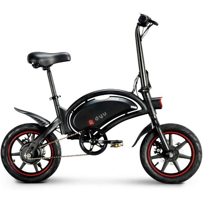 Vélo électrique 14 - - DYU D3F Vélo assistance électrique pliable 6Ah 250W