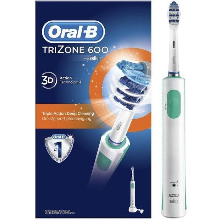 Oral-B TriZone 600 Brosse à dents électrique rechargeable par BRAUN