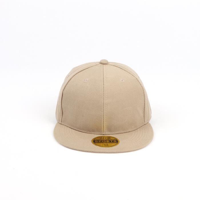 Khaki -Casquette de Baseball pour hommes et femmes, chapeau d'été Hip Hop de haute qualité, couleur unie, réglable, k pop, Camouflag