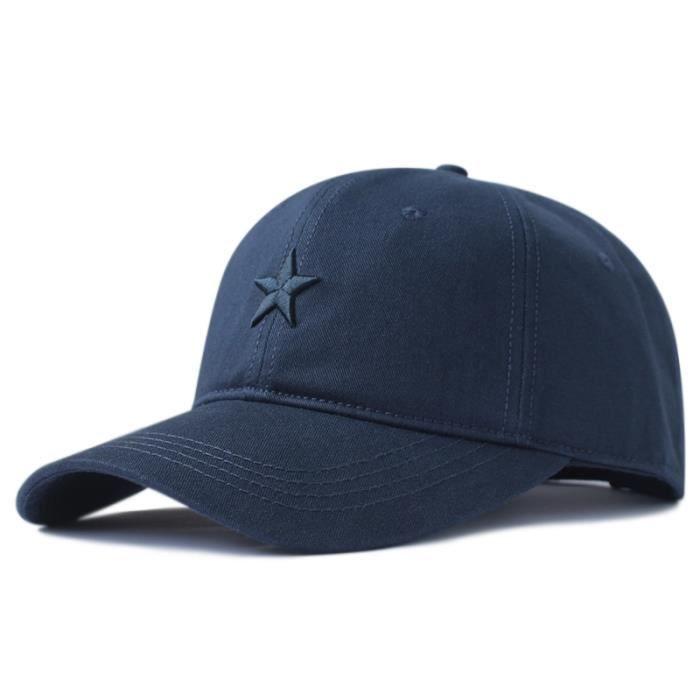 navy blue-56-61cm -56 61cm 62 68cm grande tête Homme Grande Taille Casual Pointu Chapeaux Cool Hip Hop Chapeau Homme Grande Taille C