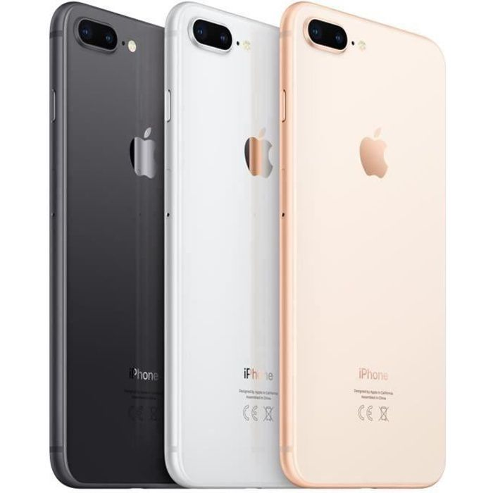 SMARTPHONE iPhone 8 Plus 64 Go Gris Sideral Occasion - Comme