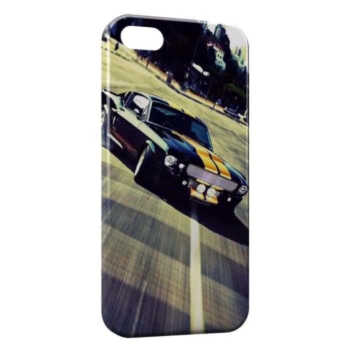 coque iphone 6s mustang design voiture