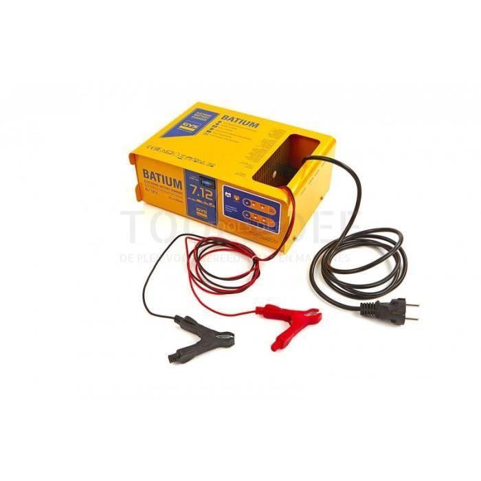 CHARGEUR DE BATTERIE Gys Batium 7/12 Professional Chargeur de batterie,