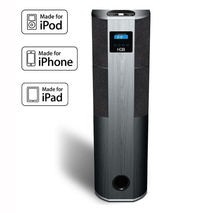 h b ip 600i ipod iphone ipad 500 w station d 39 accueil. Black Bedroom Furniture Sets. Home Design Ideas