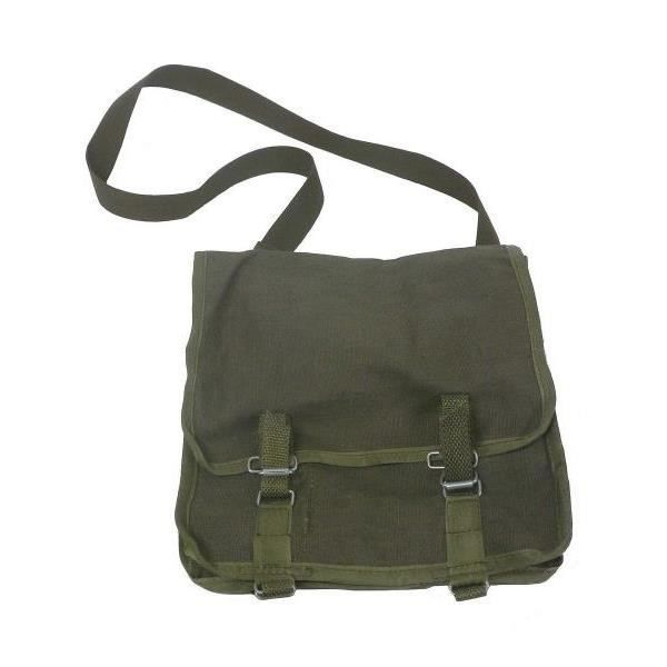 BESACE - SAC REPORTER SAC BESACE OU MUSETTE VERT OLIVE DE L'ARMEE POLONA