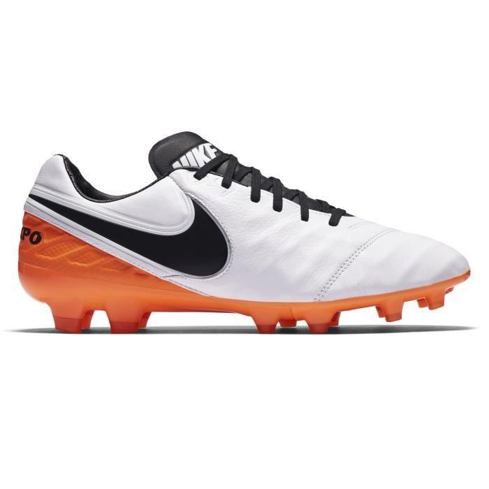 Chaussures football Nike Tiempo II Legacy FG Blanc - Prix ...