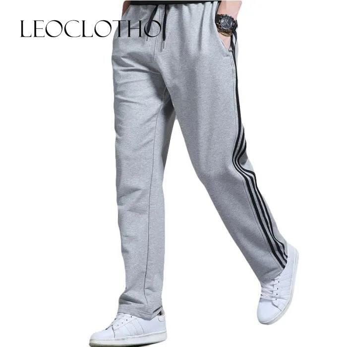Pantalon de jogging Homme grande taille Droit
