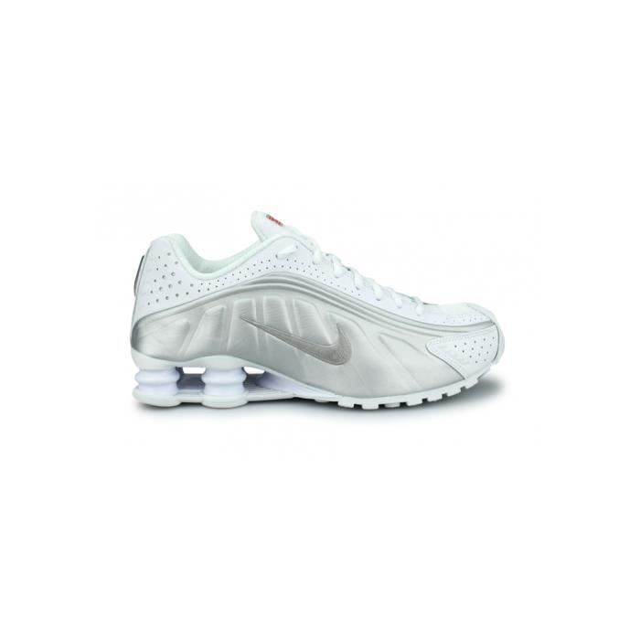 free delivery undefeated x classic fit Basket Nike Shox R4 Blanc 104265-131 Noir - Achat / Vente basket ...