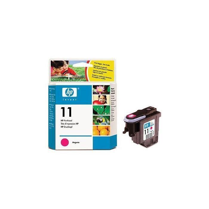 CARTOUCHE IMPRIMANTE HP 11 - C4812A - Tete d'impression magenta