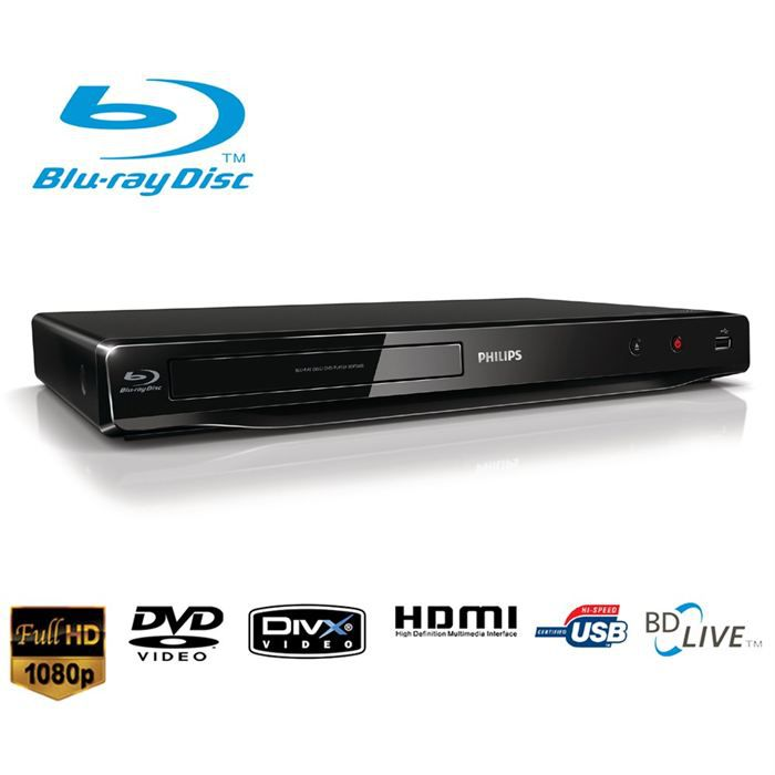 philips bdp2600 lecteur blu ray dvd achat vente lecteur blu ray philips bdp2600 prix. Black Bedroom Furniture Sets. Home Design Ideas