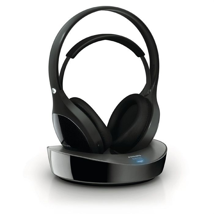 philips shd8600 casque sans fil num rique casque. Black Bedroom Furniture Sets. Home Design Ideas