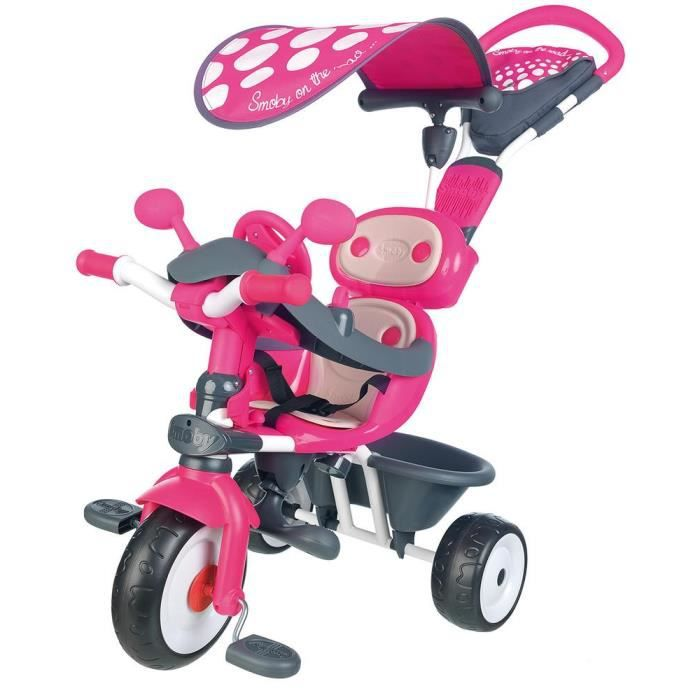 smoby tricycle baby driver confort rose achat vente. Black Bedroom Furniture Sets. Home Design Ideas