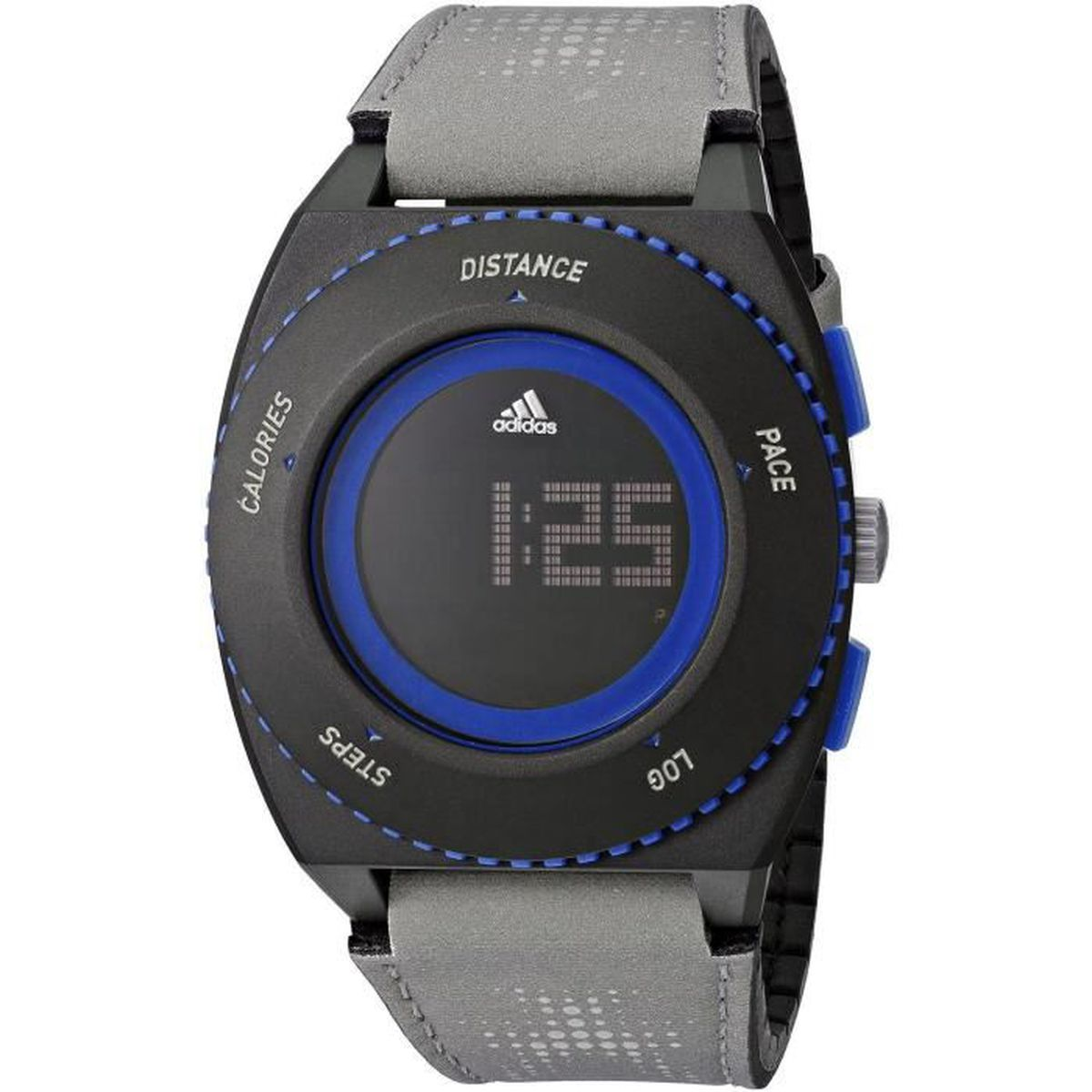 adidas homme 45mm bracelet tissu gris boitier plastique quartz montre adp3239 achat vente. Black Bedroom Furniture Sets. Home Design Ideas