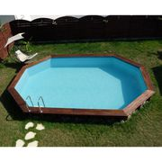 KIT PISCINE  BLUEWAVE Piscine ARISTA bois ovale