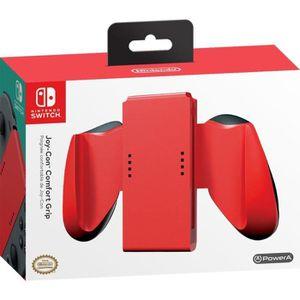 PROTECTION ECRAN JEUX POWER A Support Joy-Con - Rouge - Nintendo Switch