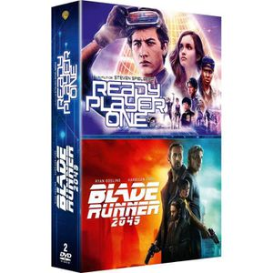 DVD SÉRIE Coffret DVD, 2 films : Ready player one, Blade run