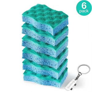 PORTE ÉPONGE Multi-Use Scrunge Scrub Sponge by