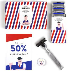 SOIN AVANT RASAGE Monsieur Barbier Kit de Rasage Challenger