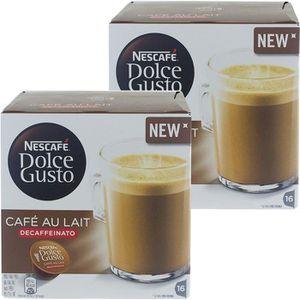 CAFÉ CD-624Nescafé Dolce Gusto café au lait DECAFFEINAT