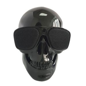 ENCEINTE NOMADE enceinte bluetooth crâne noir
