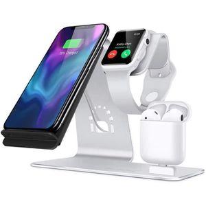 CHARGEUR TÉLÉPHONE Chargeur Sans Fil iPhone Samsung, Apple iWatch Sup
